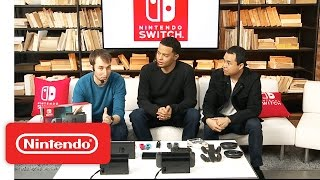 Hardware and Accessories Overview - Nintendo Treehouse: Live with Nintendo Switch