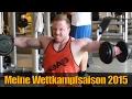 Meine Wettkampfsaison 2015 - Dominik Dornbusch