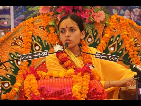 Murlika Ji in USA 2016 - Bhagwat Katha Sanatan Dharma Kentra San Jose CA Day 01 - July 24 Part 02