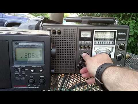 Audio comparison between the CCRadio 2E and the rf-2200