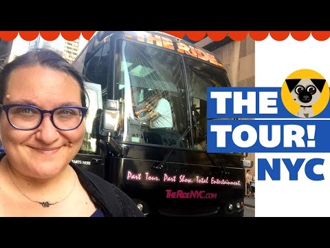 THE TOUR: Taking a bus ride around New York City!