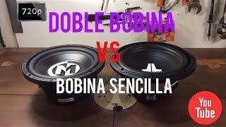 DOBLE BOBINA VS BOBINA SENCILLA CUAL ES MEJOR ? / CAR AUDIO -HD