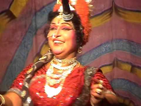 Bhavani Scene - Part 1 In Chintamani Drama By P.V.Narayana