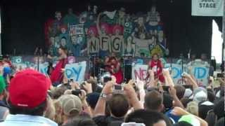 New Found Glory live Intro/All Downhill From Here Warped Tour 2012