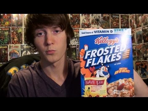 Eating Frosted Flakes At 4 AM