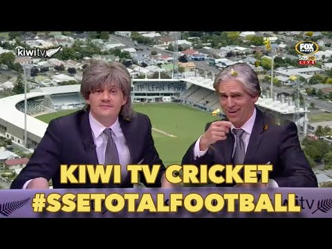 Kiwi TV talks cricket