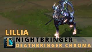 Nightbringer Lillia Deathbringer Chroma - League of Legends
