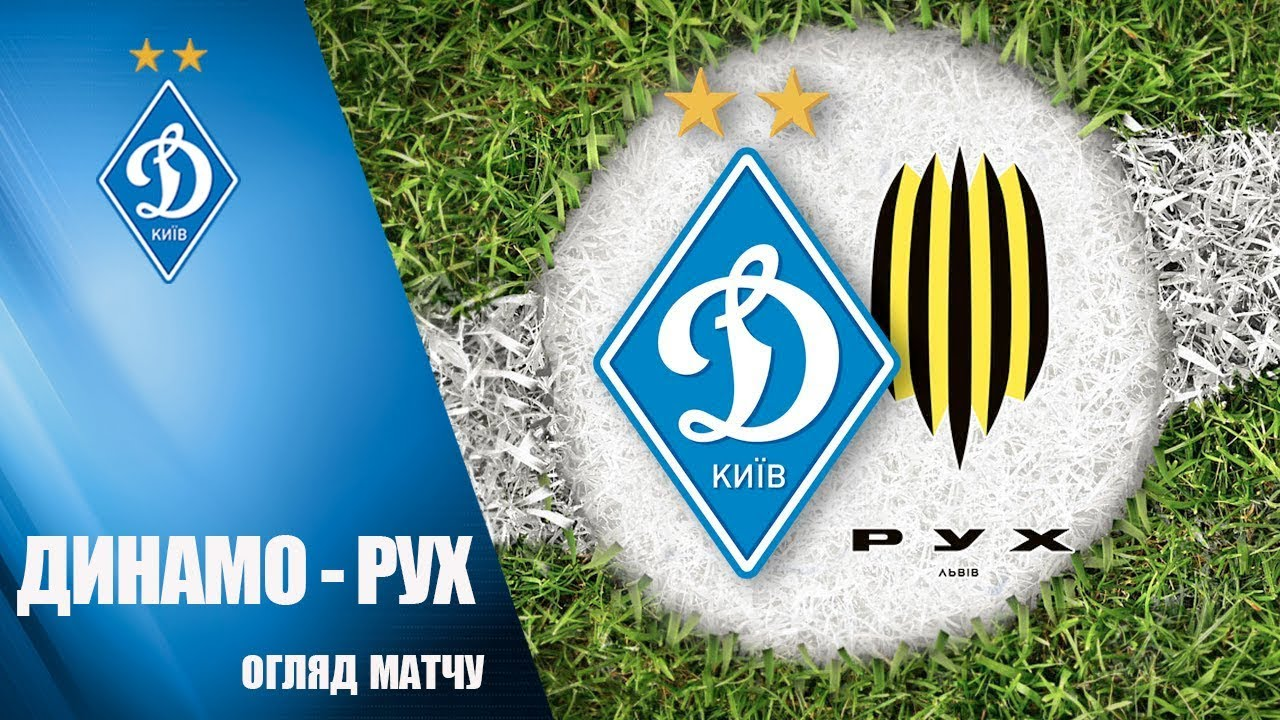 Динамо Киев  0-0  Рух Винники видео