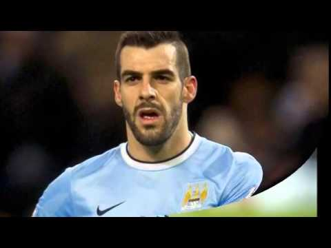 Manchester City striker Alvaro Negredo ruled out for