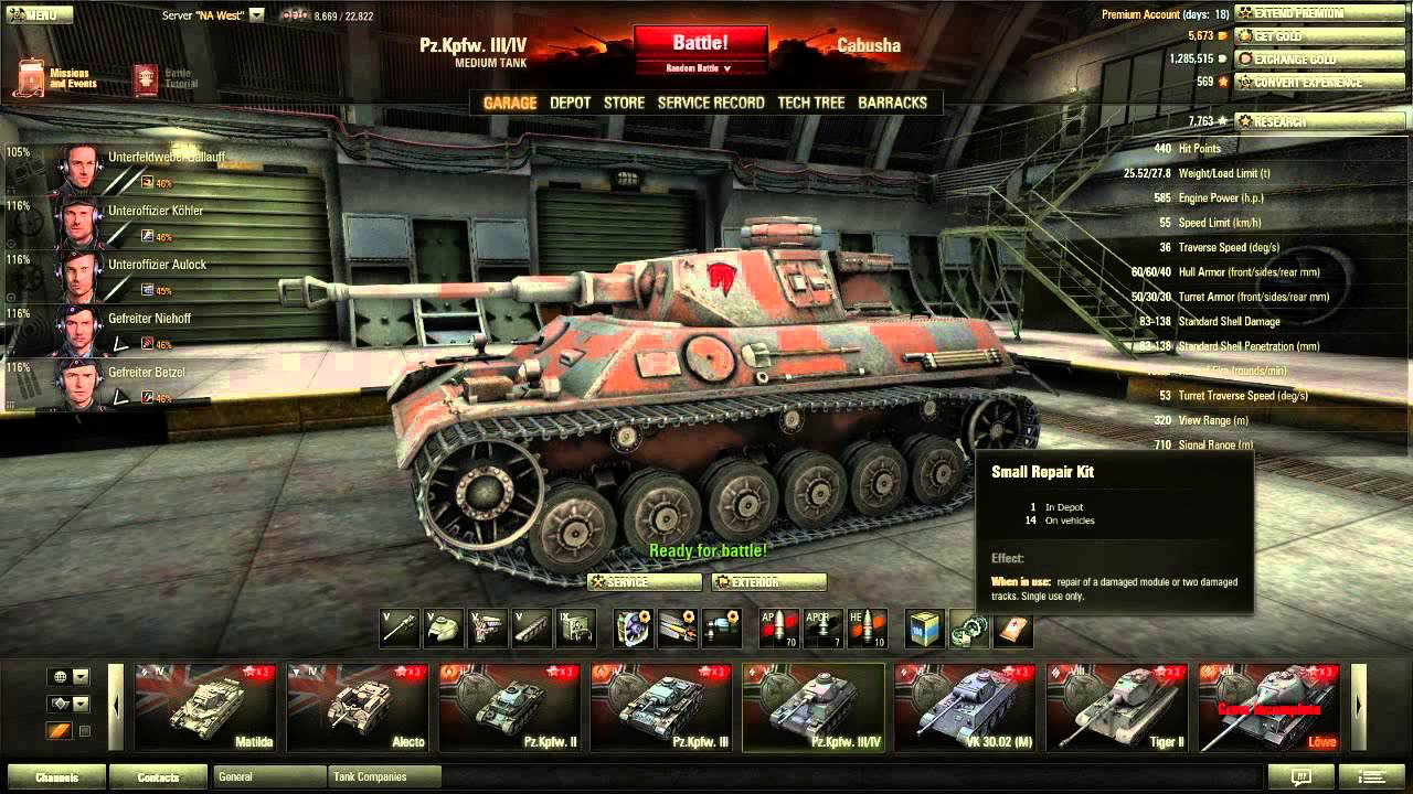 matchmaking tankar WOT
