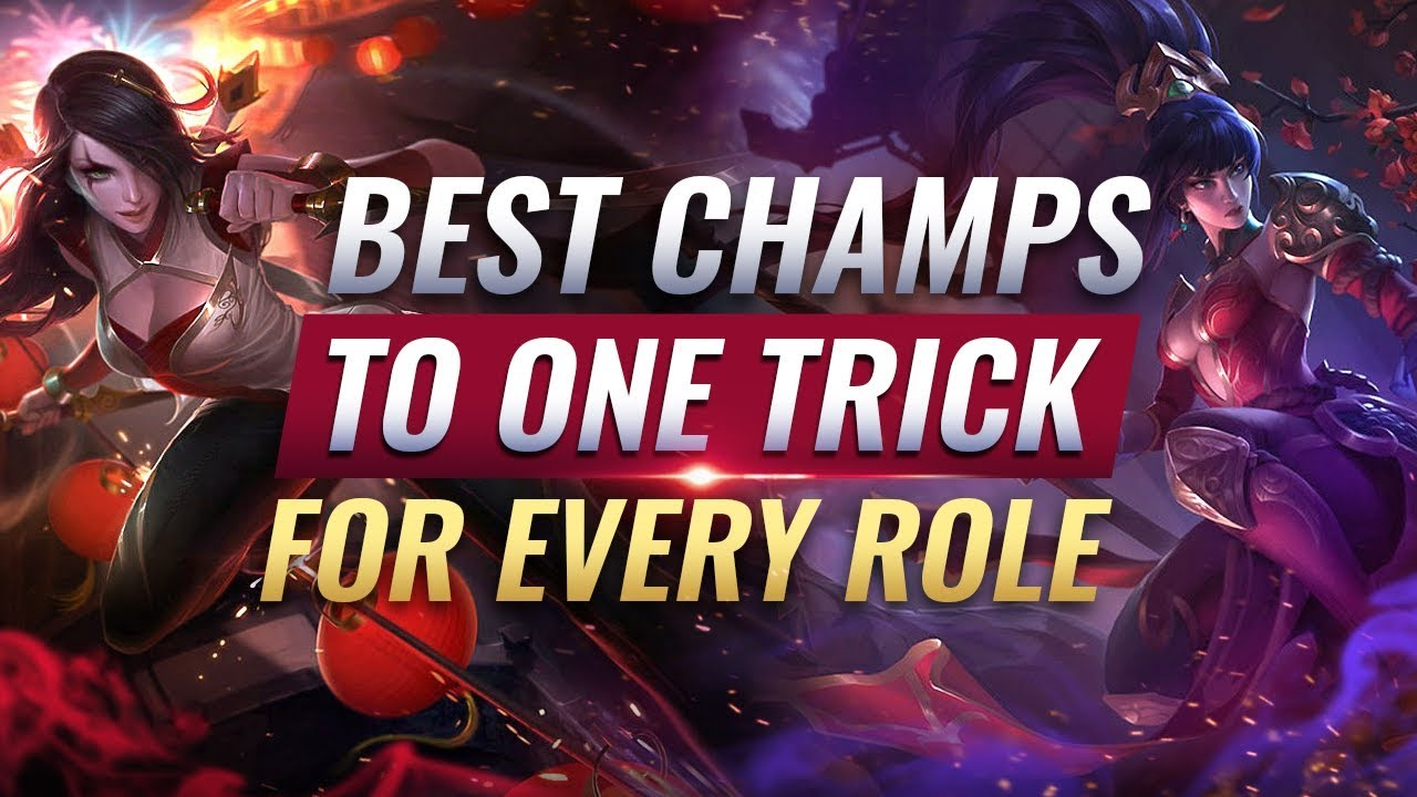 3 Best Champions To One Trick For Every Role League Of Legends