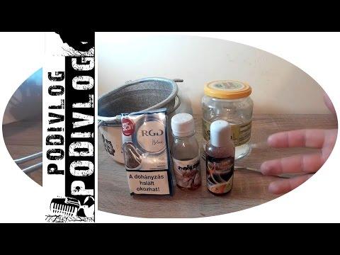 Házi vizipipa dohány készítés | dohány ízesítés | PODIvlog