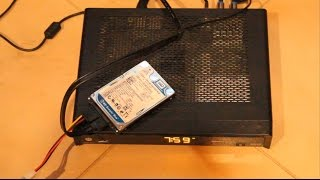How To Add External Hard Drive For Shaw Direct DSR630 PVR 630