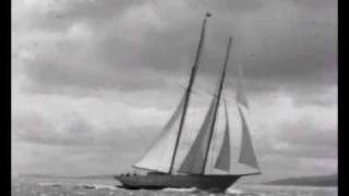 Classic Yacht Sailing in 1930s with Alfred Mylne