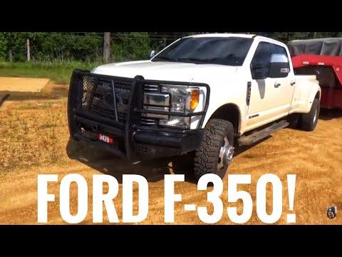 Ford F-350 & a 36' gooseneck