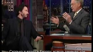 2008 Keanu Reeves / The Late Show
