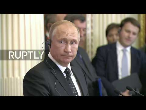 LIVE: Putin and Orban hold press conference following meeting in Moscow