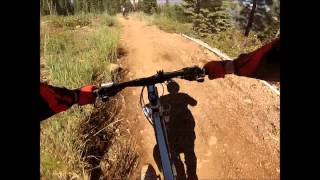 Trek Remedy 8 DH Livewire trail @ Northstar 8-11-13
