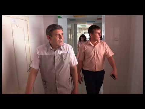 И.о главы Гулькевичского района  А.Шишикин с рабочим визитом посетил детскую поликлинику