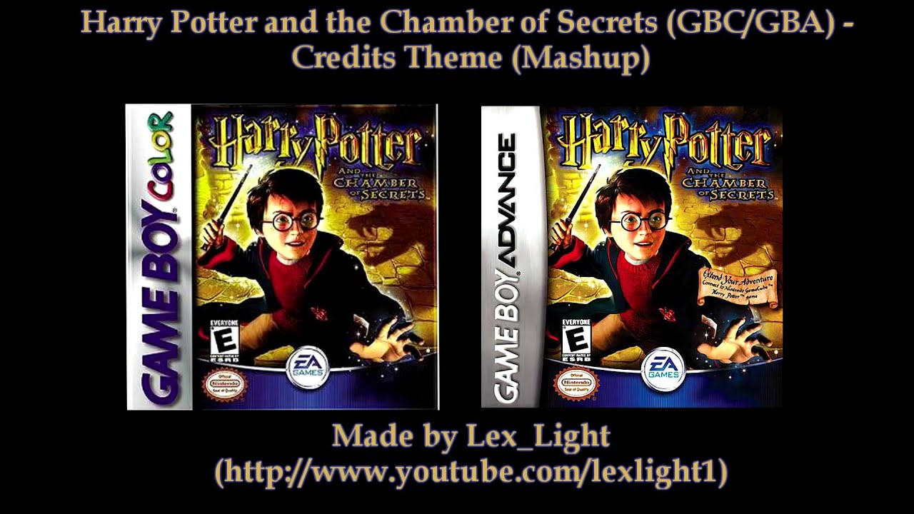 Harry Potter And The Chamber Of Secrets Gbc And Gba Credits