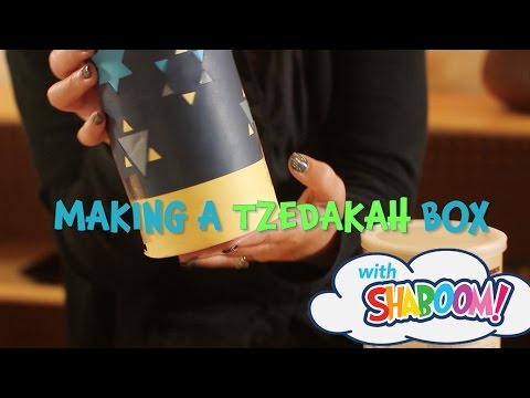 DIY Tzedakah Box: Craft With Your Kids And Teach Them About Giving