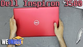 Unboxing Red Dell Inspiron 3580 With Core i7-8565U
