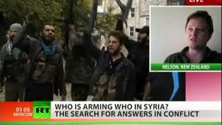 Watch online who supplies Syrian rebels with arms