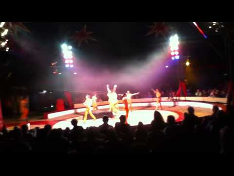 Zippo's Circus - Sheffield - 2013 - Havana Troupe (Stunt Team)