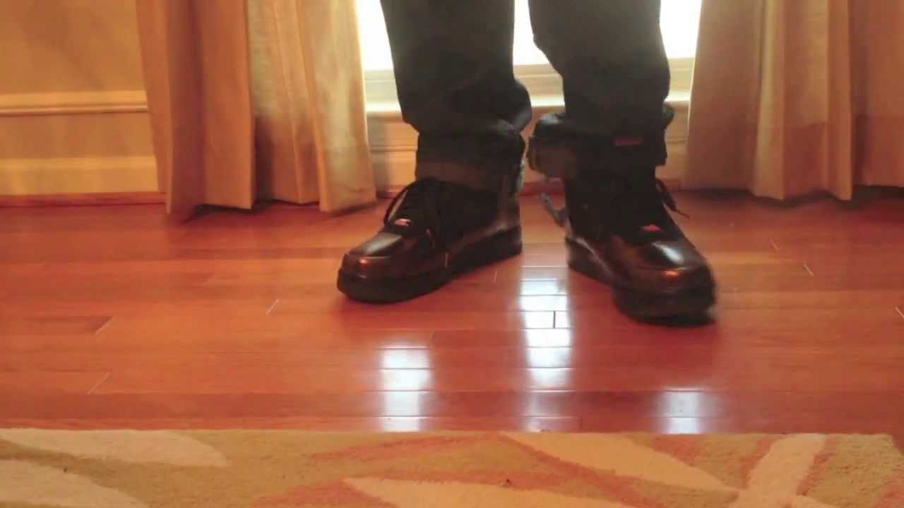 best value 7bf5e a6acf BHM Foamposite Air Force One On Feet Review - YouTube