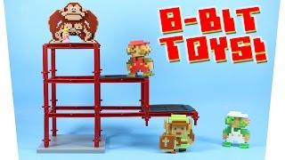 World Of Nintendo 8 Bit Mario Luigi Donkey Kong Link Toys Series 1 5