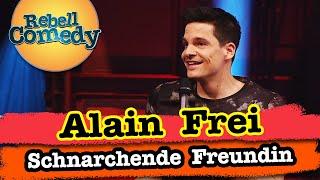 Alain Frei – Schnarchende Freundin