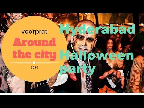 AROUND THE CITY-webisode 1 Hyderabad (HALLOWEEN PARTY) AQUA