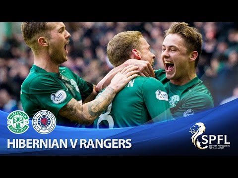 Hibs hammer Gers in historic win at Easter Road