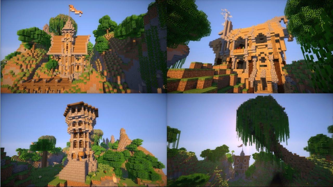Карты — Дома » Minecraft: моды, карты, текстуры для MCPE 1 ...