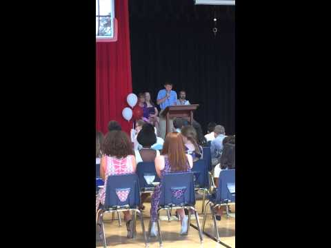"Braxton asks to give an ""impromptu"" speech at his 5th graduation at Glendover Elementary."