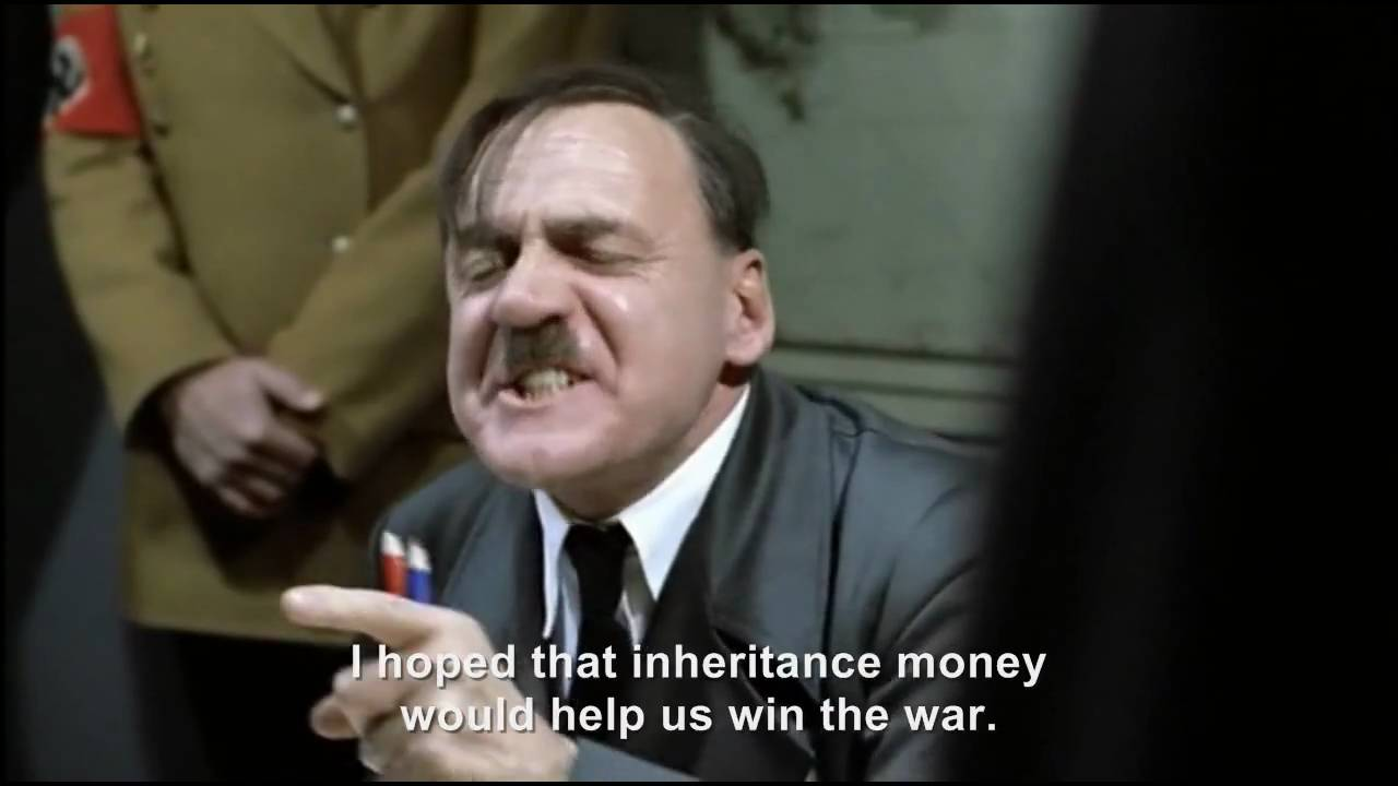 Hitler falls for email scam