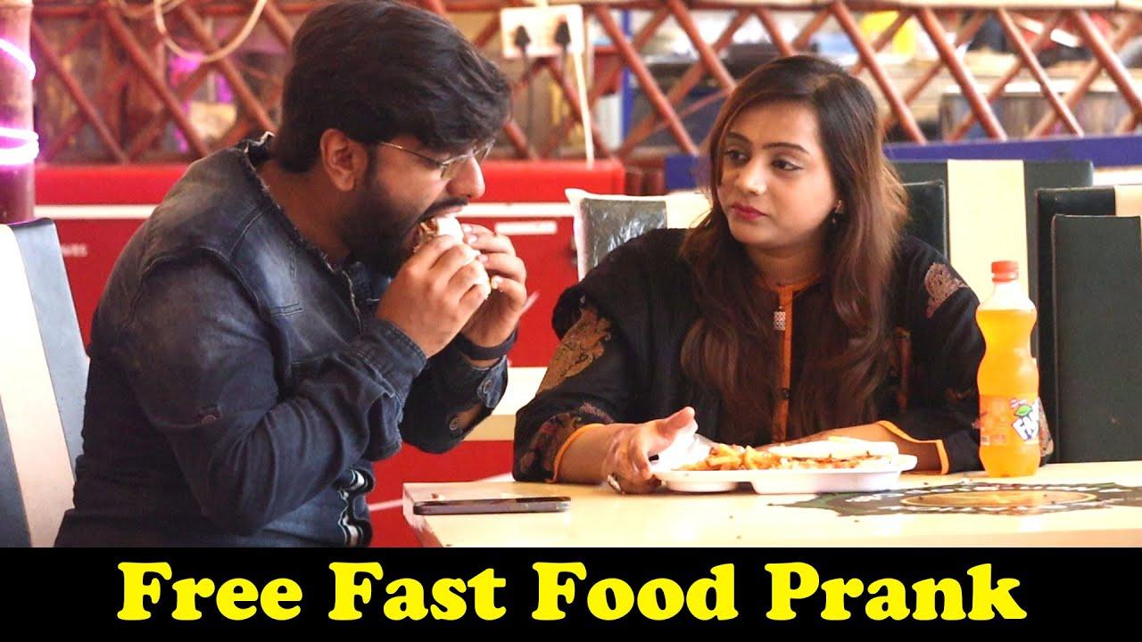 Free Fast Food Prank   Pranks In Pakistan   Humanitarians