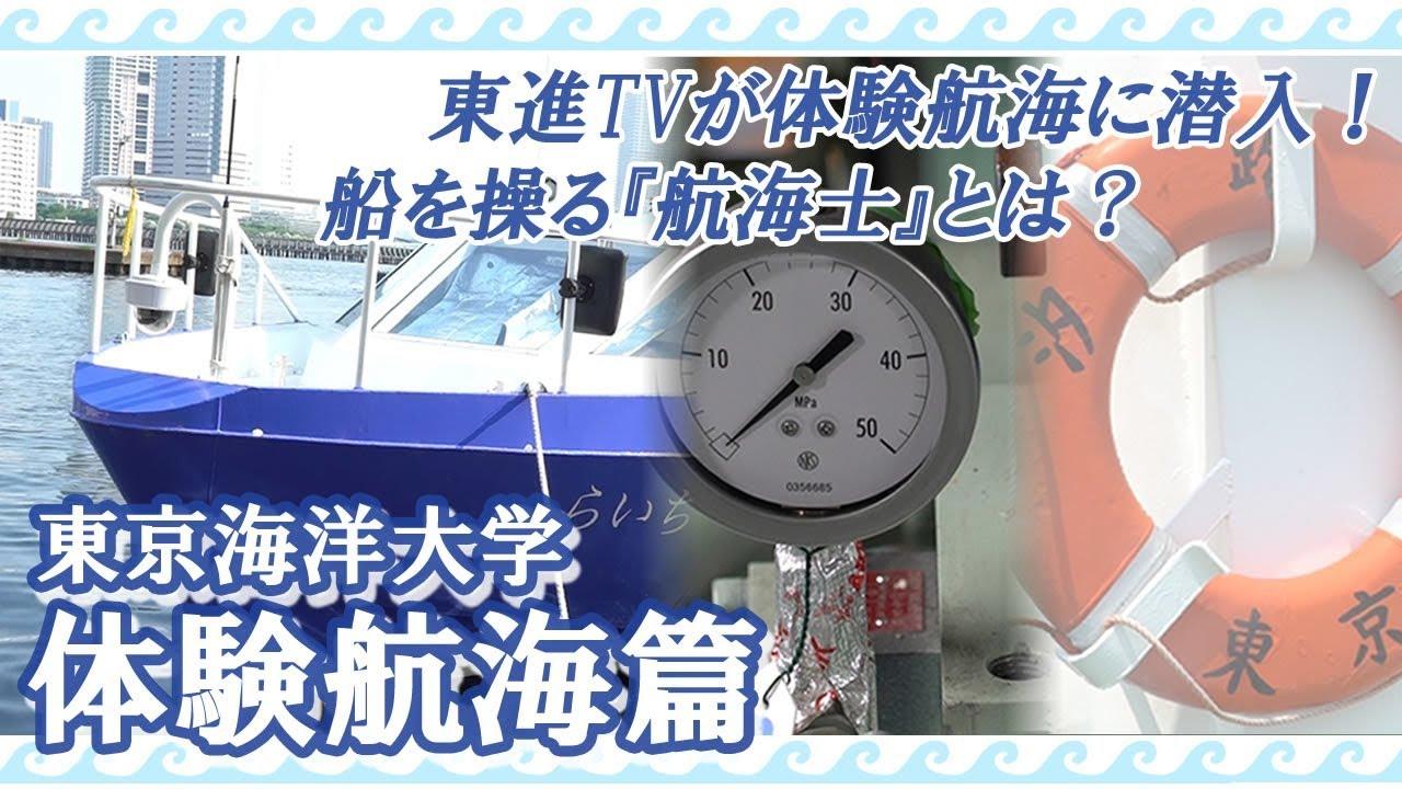 東京海洋大学 体験航海