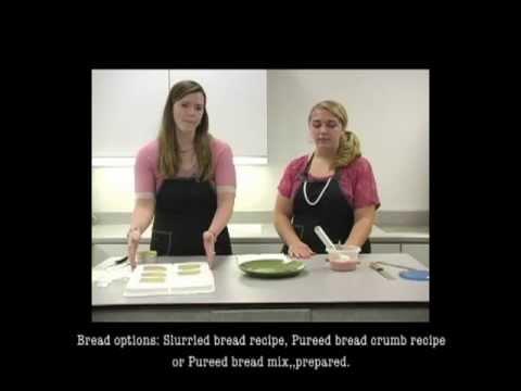 Dysphagia Divas-Making Pureed Sandwiches