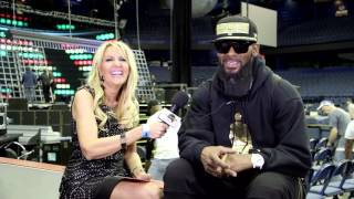 Hanging with R Kelly at Allstate Arena 5/7/16