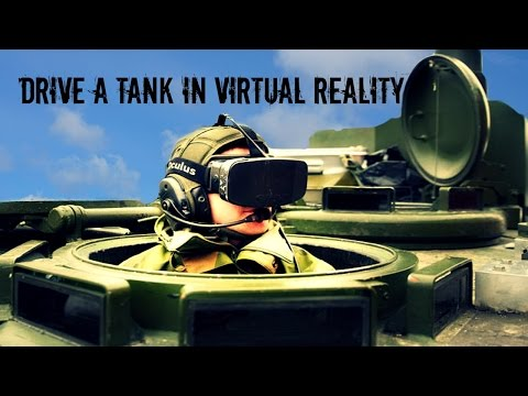 Drive a Tank in Virtual Reality - Razer Hydra - Oculus Rift Dk 2 |