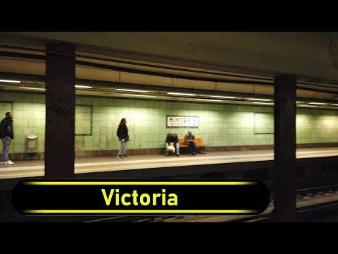Metro Station Victoria - Athens - Walkthrough 🚶