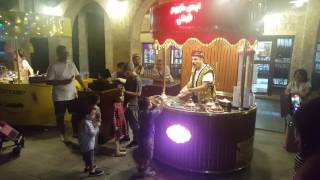 Funny Ice cream shop in Qatar