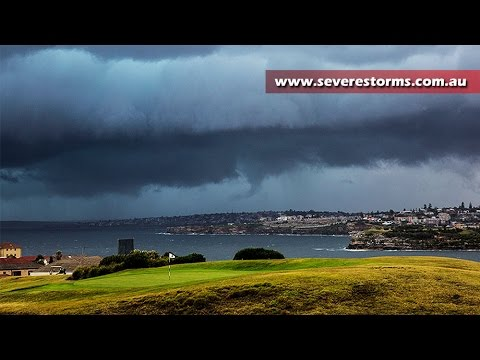 Sydney hit by tornado, severe winds and hail
