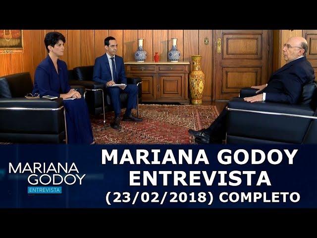 Mariana Godoy Entrevista (23/02/18)   Completo
