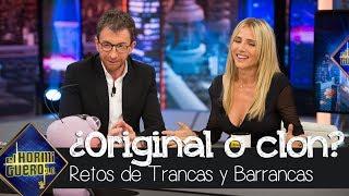 Trancas y Barrancas ponen a prueba la agudeza visual de Elsa Pataky - El Hormiguero 3.0