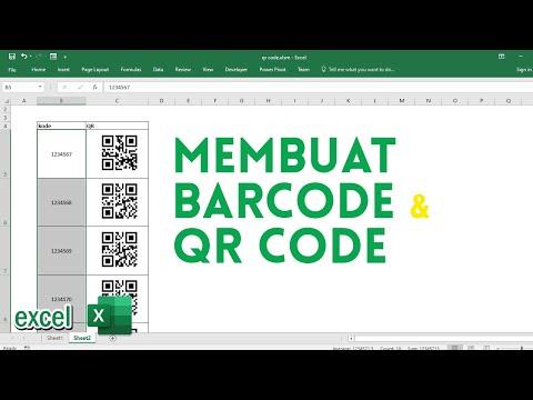 Cara membuat barcode di microsoft office word.