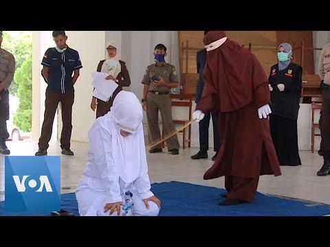 Floggings Continue in Indonesia's Aceh Despite Coronavirus