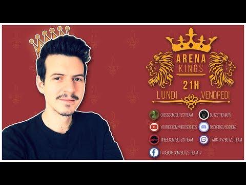 Première Arena Kings en échecs 960 !!