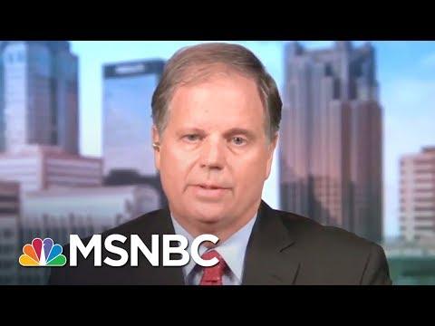 Meet Roy Moore's Opponent: Doug Jones Interview (Full) | MTP Daily | MSNBC streaming vf